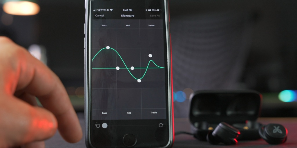 EQ can be tweaked within the Jaybird app.