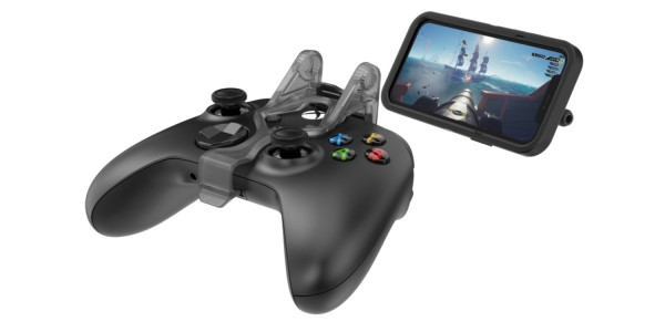 new OtterBox MagSafe mobile gaming clip