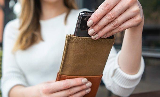 DODOcase iPhone 13 durable wallet