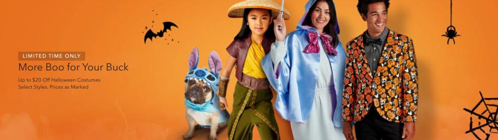 Disney Halloween costume sale
