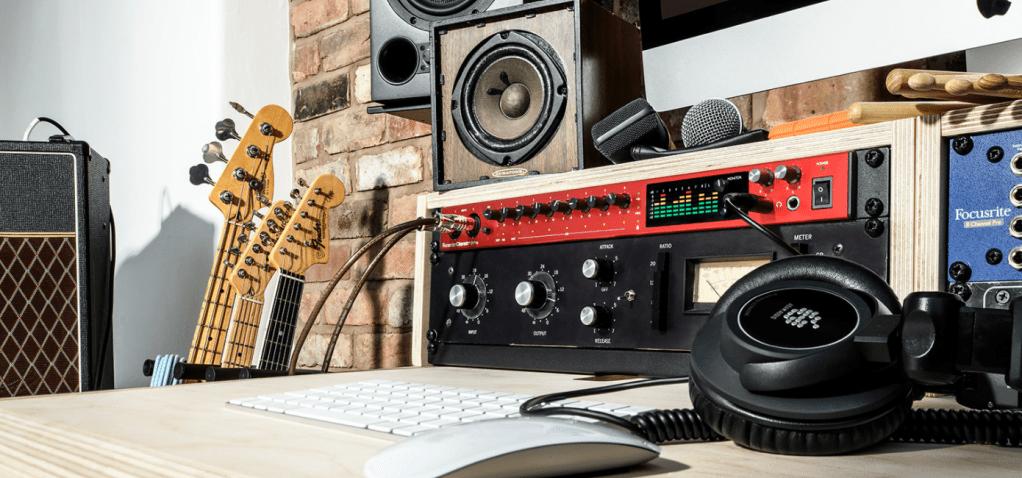 Focusrite USB-C audio interfaces Clarett+