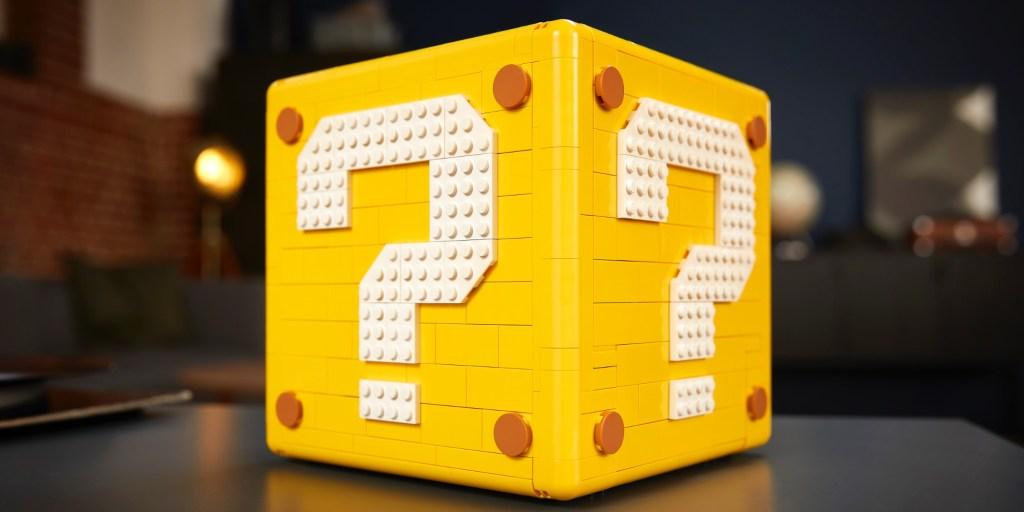 LEGO Mario Question Block