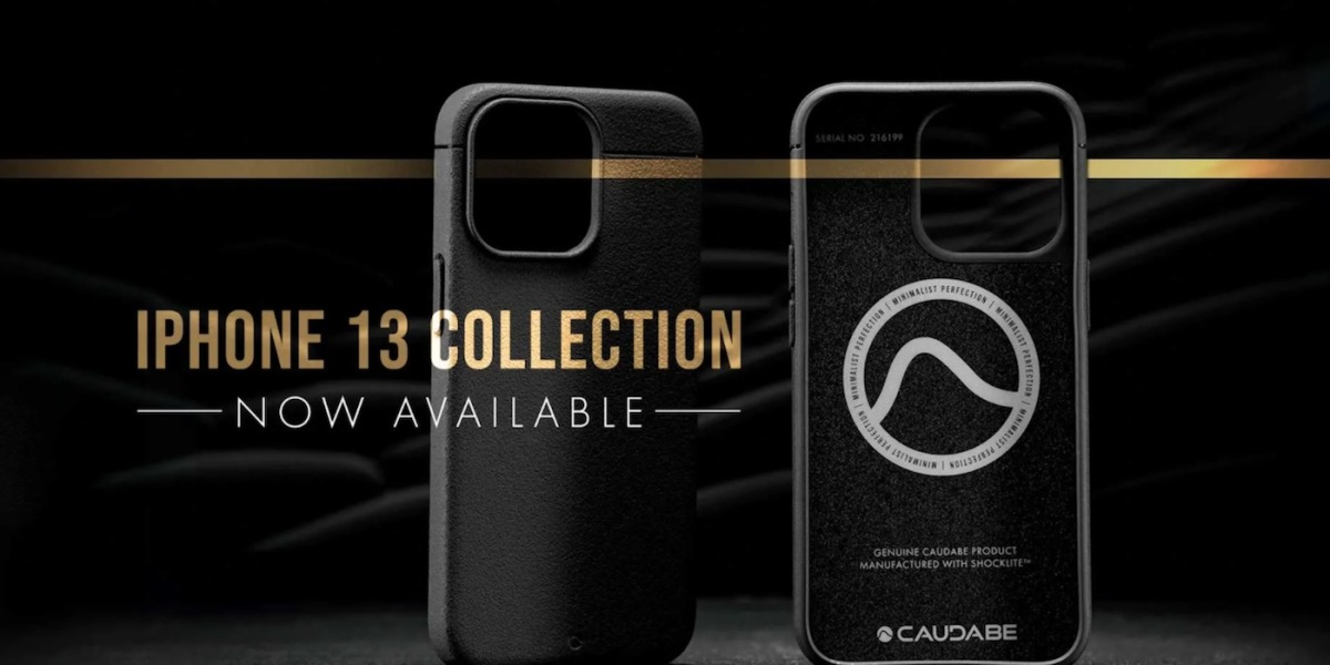 New Caudabe iPhone 13 case lineup