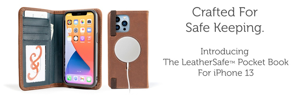 Pad & Quill iPhone 13 cases leathersafe