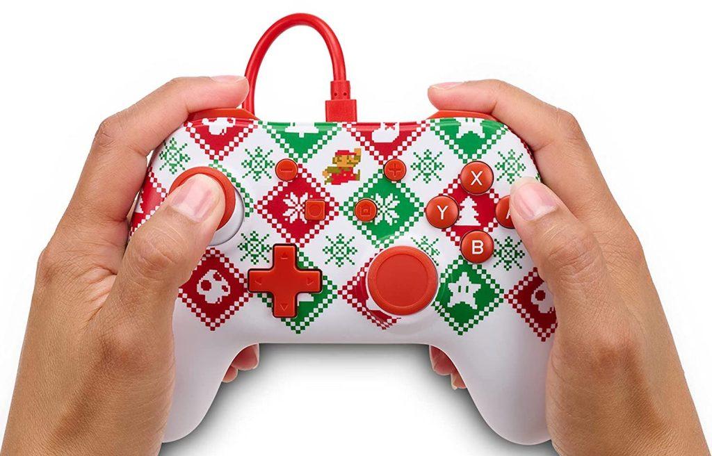 Mario Holiday Sweater Edition controller