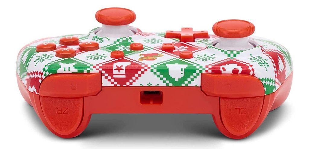 PowerA Mario Holiday Sweater Edition controller