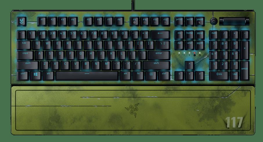 Razer Halo Infinite gaming gear BlackWidow