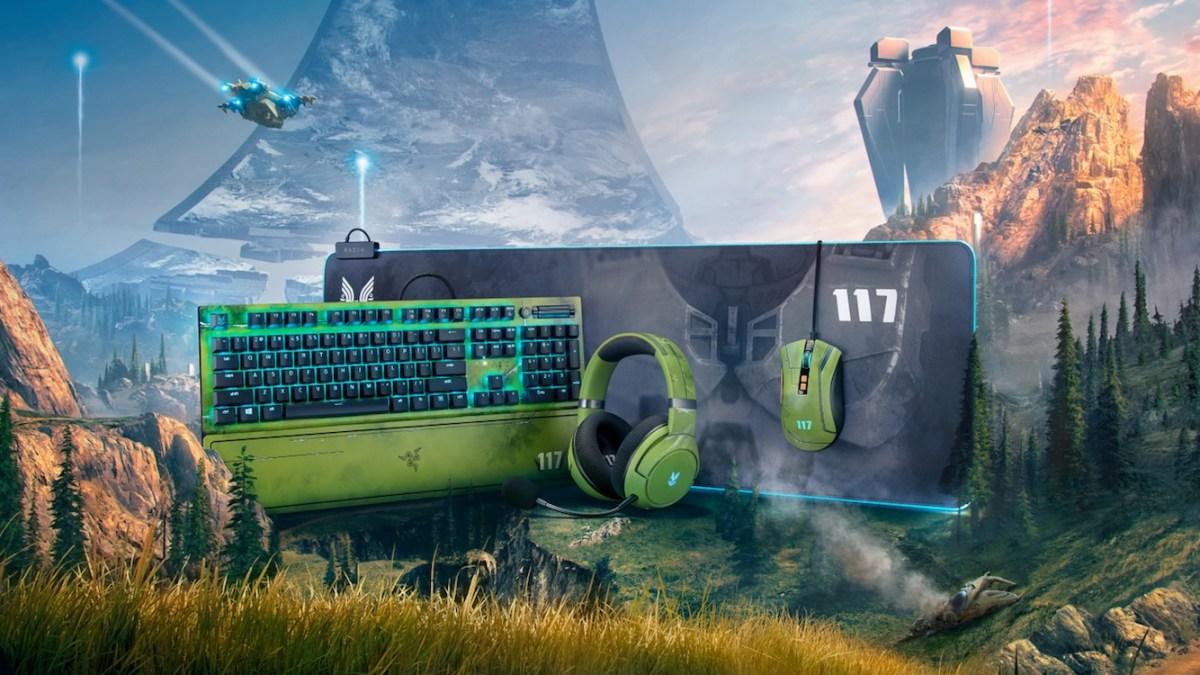 Razer Halo Infinite gaming gear