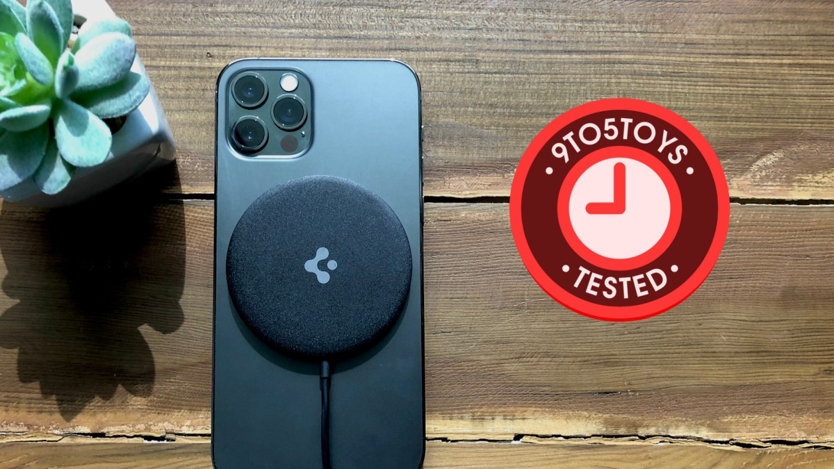 Spigen ArcField Magnetic Wireless Charger review