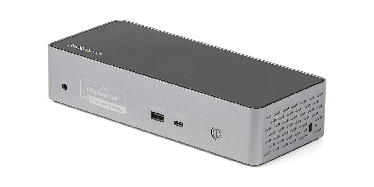 Quad Monitor USB-C Dock