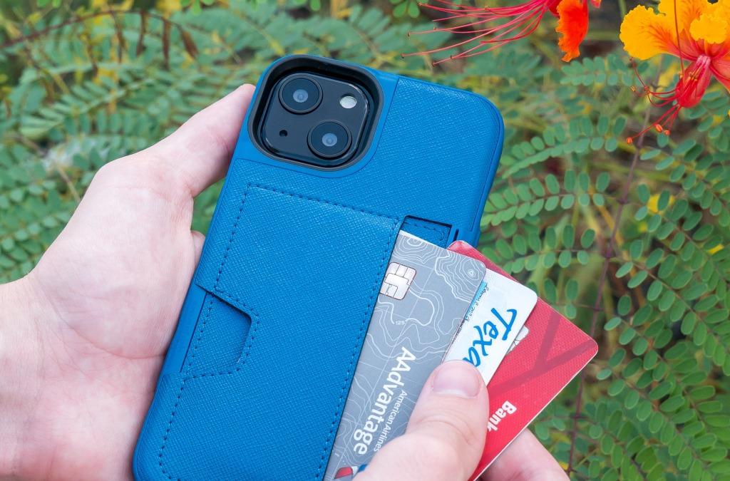 Wallet Slayer Vol. 2 iPhone 13 Blues On The Green Lifestyle 1