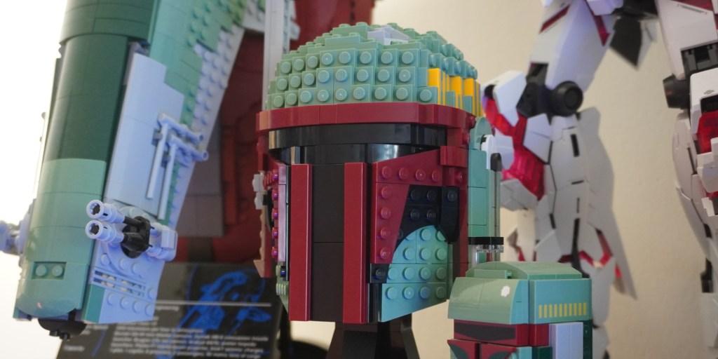 LEGO Mandalorian helmet