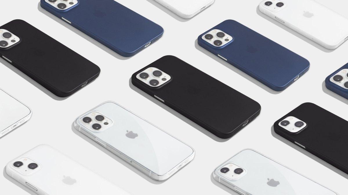 Totallee minimalist iPhone 13 cases