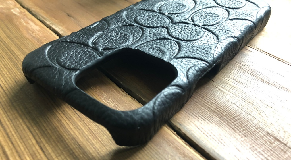 Coach Slim Leather Case for iPhone 13