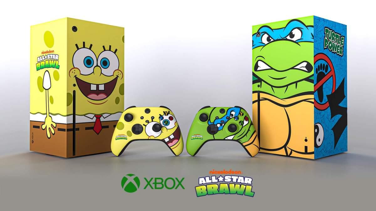 SpongeBob SquarePants Xbox Series X console